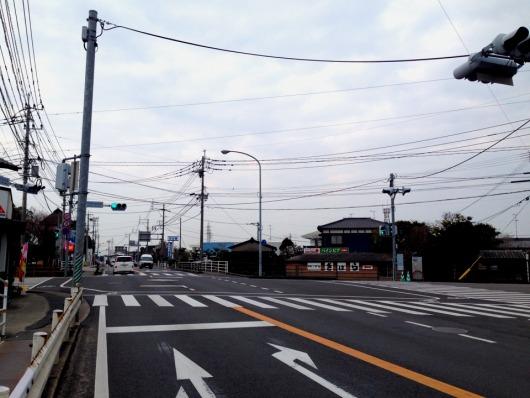鳥栖、久留米方面から神埼市役所前信号