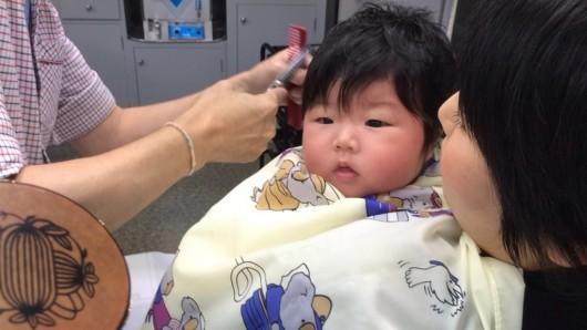 赤ちゃんカット