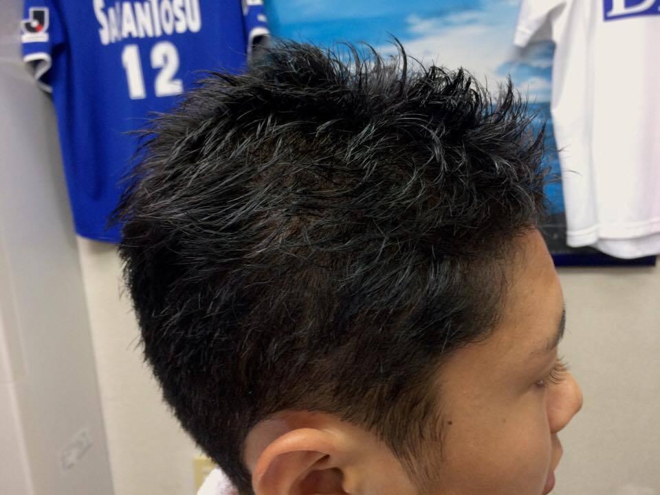 坊主から初めて伸ばす髪型